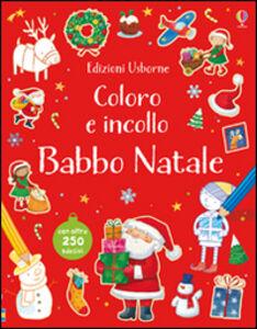 Libro Babbo Natale. Con adesivi Sam Taplin , Sam Meredith , Ag Jatkowska