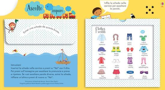 Parliamo l'inglese. Ascolto e imparo. Ediz. illustrata - Sam Taplin,Mairi Mackinnon,Rosalinde Bonnet - 2