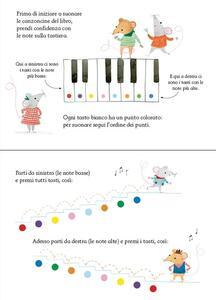 Libro-pianoforte per i piccini. Ediz. illustrata - Sam Taplin,Rachel Green - 2