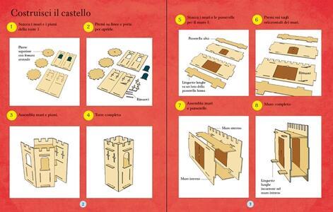 Il castello. Modellini 3D - Simon Tudhope,Jez Tuya - 2