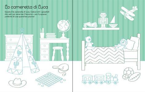 Foto Cover di La casa delle bambole da colorare. Con adesivi, Libro di Abigail Wheatley,Sophie Crichton, edito da Usborne Publishing 3