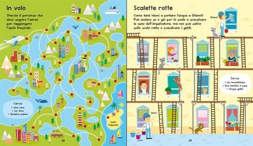 Labirinti facili facili. Giochi e passatempi. Ediz. illustrata - Kirsteen Robson,Emily Golden Twomey - 4