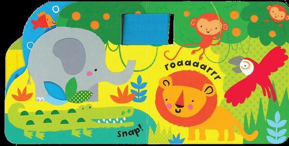 Giungla. Primi libri tattili per il passeggino. Ediz. illustrata - Fiona Watt,Stella Baggott - 2