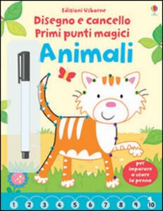 Animali. Primi punti magici. Ediz. illustrata. Con gadget
