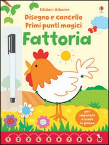 Mercatinidinataletorino.it Fattoria. Primi punti magici. Ediz. illustrata. Con gadget Image