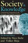 Libro in inglese Society and Knowledge: Contemporary Perspectives in the Sociology of Knowledge and Science Volker Meja