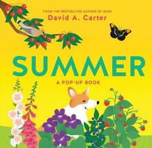 Summer: A Pop-Up Book - David Carter - cover