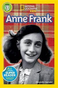 Foto Cover di Anne Frank, Libri inglese di Alexandra Zapruder, edito da National Geographic Kids