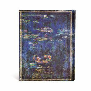 Taccuino notebook Paperblanks Monet Le Ninfee, LetteraaMorisot ultra a pagine bianche - 3