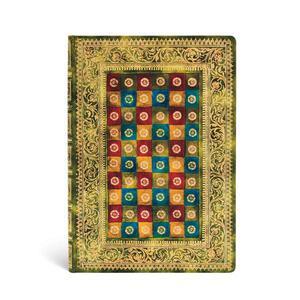 Cartoleria Taccuino notebook Paperblanks Verde midi a righe Paperblanks