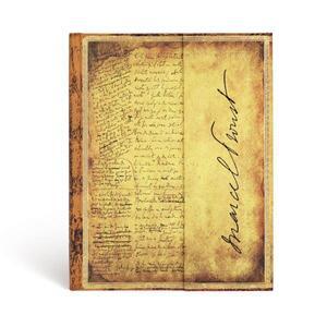 Cartoleria Taccuino notebook Paperblanks Proust, Alla ricerca del tempo perduto ultra a righe Paperblanks