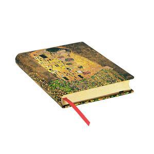 Taccuino notebook Paperblanks Centenario di Klimt, Il Bacio midi a righe - 2
