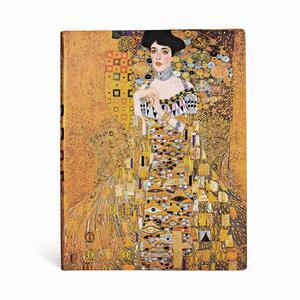 Cartoleria Taccuino notebook Paperblanks Centenario di Klimt, Ritratto di Adele ultra a righe Paperblanks