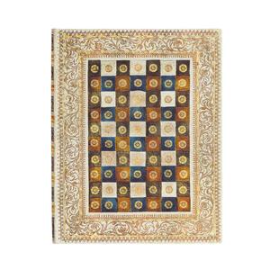 Cartoleria Taccuino Paperblanks copertina morbida Ultra a righe Aureo - 18 x 23 cm Paperblanks