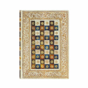 Cartoleria Taccuino Paperblanks copertina morbida Midi a pagine bianche Aureo - 13 x 18 cm Paperblanks