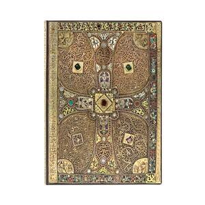 Cartoleria Taccuino Paperblanks copertina morbida Midi a righe Lindau - 13 x 18 cm Paperblanks