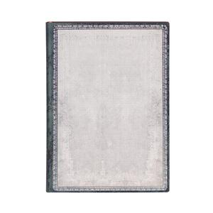 Cartoleria Taccuino Paperblanks copertina morbida Midi a pagine bianche Silice Bianca - 13 x 18 cm Paperblanks