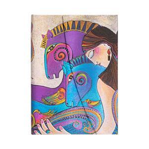 Cartoleria Taccuino Paperblanks copertina rigida Midi a pagine bianche Maria e Mares - 13 x 18 cm Paperblanks