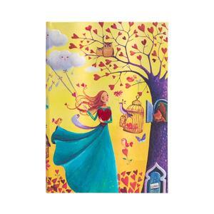 Cartoleria Taccuino Paperblanks copertina rigida Midi a righe Fogliame Autunnale - 13 x 18 cm Paperblanks