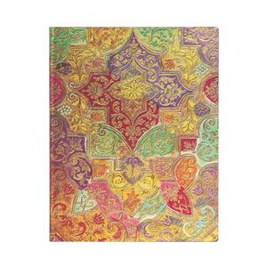 Cartoleria Taccuino Paperblanks copertina morbida Ultra a righe Fiore Selvatico Bavarese - 18 x 23 cm Paperblanks