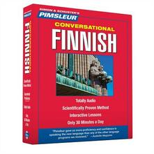 Pimsleur Finnish Conversational Course - Level 1 Lessons 1-16 CD: Learn to Speak and Understand with Pimsleur Language Programs - Pimsleur - cover