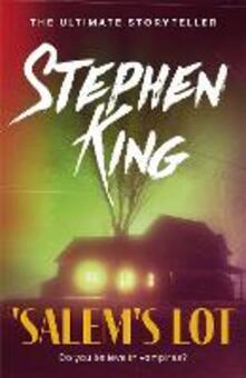 'Salem's Lot - Stephen King - cover