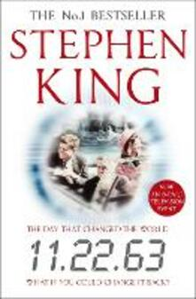 11.22.63 - Stephen King - cover