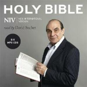 The Complete NIV Audio Bible: Read by David Suchet (MP3 CD) - New International Version - cover