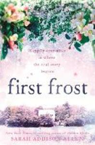 First Frost - Sarah Addison Allen - cover