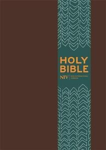 NIV Pocket Brown Imitation Leather Bible - New International Version - cover