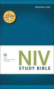 NIV Study Bible, Personal Size - New International Version - cover