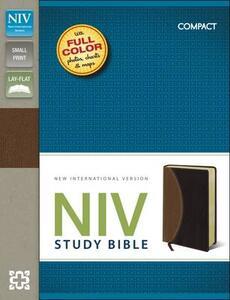 NIV Study Bible Compact - New International Version - cover