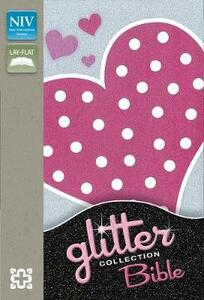 NIV Glitter Bible Collection Flexicover Pink Heart - New International Version - cover