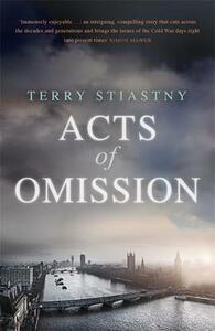 Acts of Omission - Terry Stiastny - cover