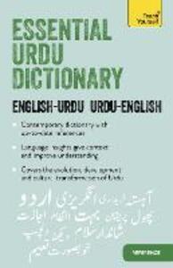 Essential Urdu Dictionary: Learn Urdu with Teach Yourself - Timsal Masud - cover