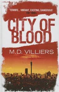 City Of Blood - M. D. Villiers - cover