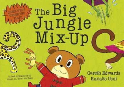 The Big Jungle Mix-Up - Gareth Edwards - cover