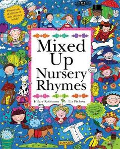 Mixed Up Nursery Rhymes: Split-Page Book - Hilary Robinson - cover