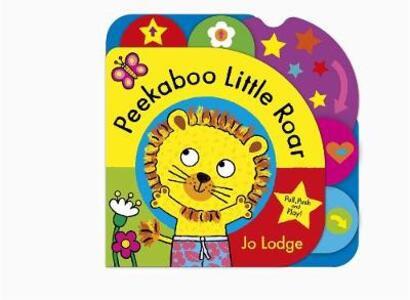 Peekaboo Little Roar Board Book - Jo Lodge - cover