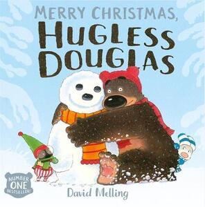 Merry Christmas, Hugless Douglas - David Melling - cover