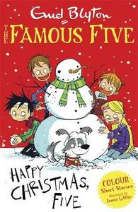 Happy Christmas, Five! - Enid Blyton - cover