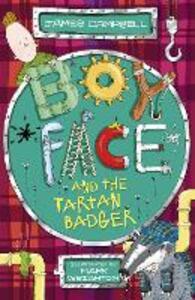 Boyface and the Tartan Badger - James Campbell - cover