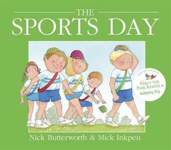 Sports Day - Mick Inkpen,Nick Butterworth - cover