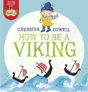 How to be a Viking - Cressida Cowell - cover