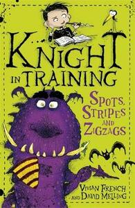 Knight in Training: Spots, Stripes and Zigzags: Book 4 - Vivian French - cover