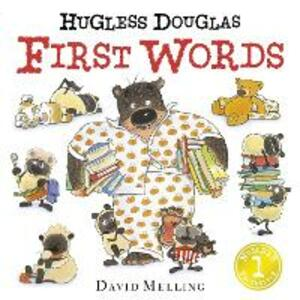 Hugless Douglas First Words Board Book - David Melling - cover