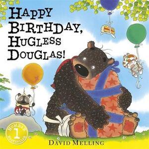 Happy Birthday, Hugless Douglas! Board Book - David Melling - cover