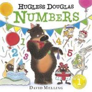 Hugless Douglas Numbers Board Book - David Melling - cover