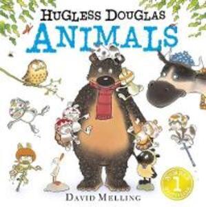 Hugless Douglas Animals Board Book - David Melling - cover