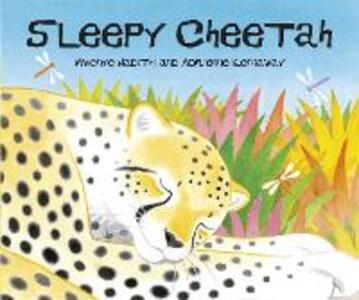 African Animal Tales: Sleepy Cheetah - Mwenye Hadithi - cover